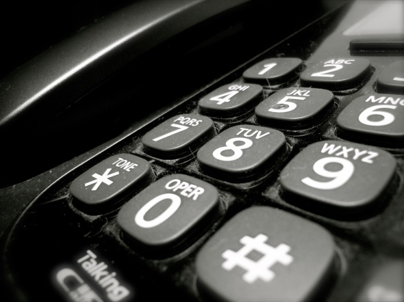 Phone by Rodney Steadman